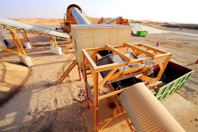 شركة سرك - إعادة تدوير مخلفات البناء