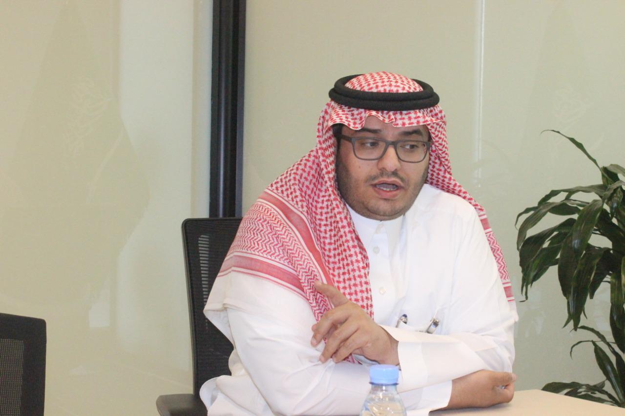 عبدالرحمن آل قوت مدير ادارة التسويق والمبيعات في شركة لدن الوحدات السكنية